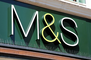 M & S Sign