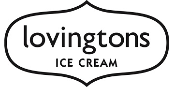 Lovingtons Ice Cream logo